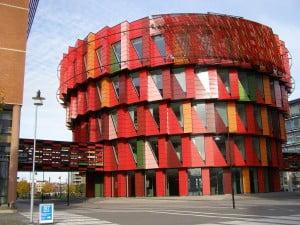 Chalmers på Lindhagen - häftig byggnad!