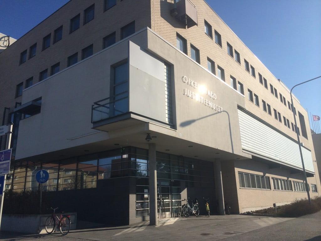 Justitiehuset i Vasa var både Österbottens tingsrätt och Vasa förvaltningsdomstol huserar.