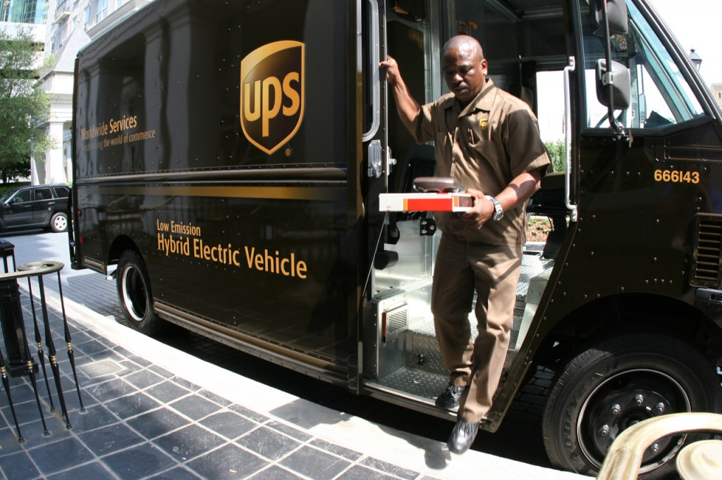 UPS-bil