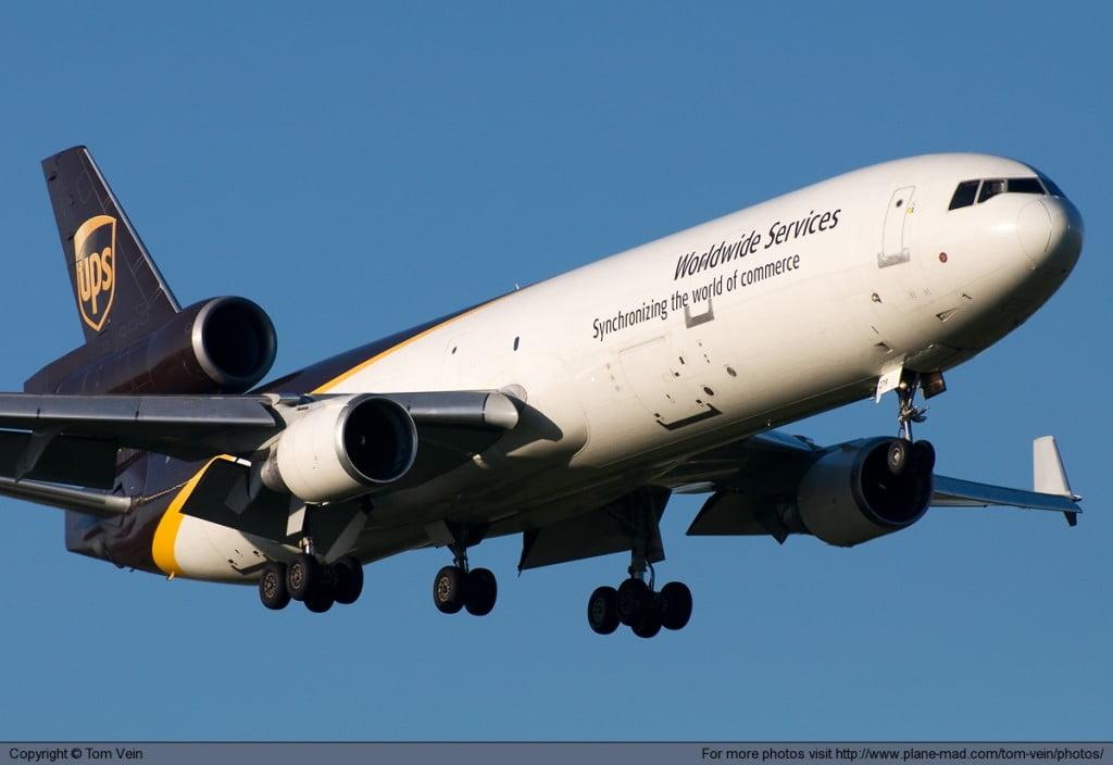 UPS-flygplan-kronoby