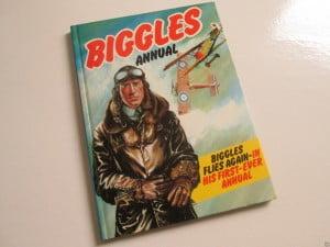 biggles-bok