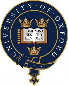 Oxford universitets logotyp, universitet är ett av de äldsta i världen, grundat ca 1096. Finlands äldsta universitet, Helsingfors universitet, är i jämförelse grundat år 1640, sådär en 550 år senare...